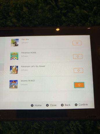 Аккаунт Nintendo switch (5игр и длс)
