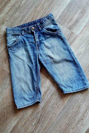 Стильные голубые шорты / h&m / шорты для мальчика / 140 /