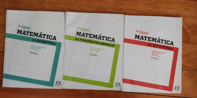 Manuais PerCursos Profissionais Matemática A1   A2   A3 (10ºAno)
