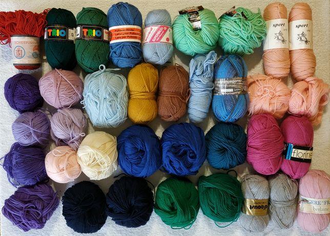 Пряжа, нитки для вязания шерсть