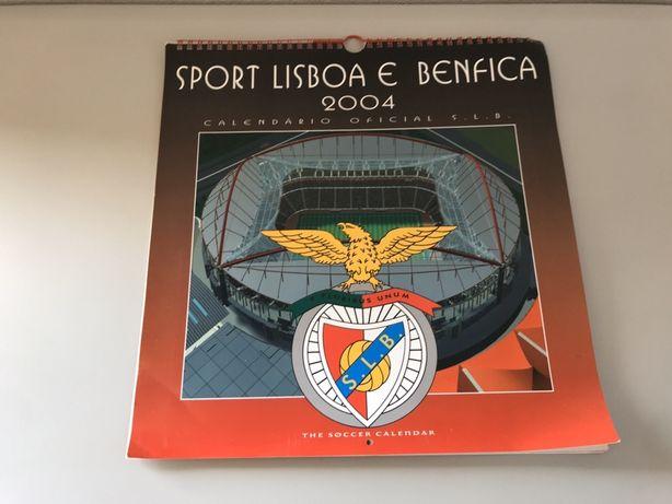 Calendário Oficial do Benfica 2004