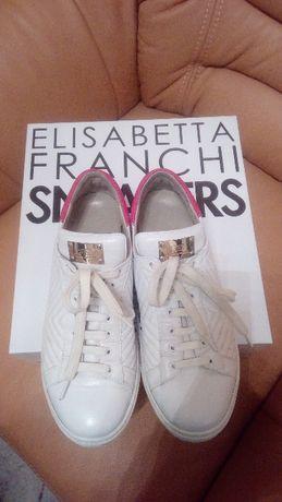 Кеды кожаные Elisabetta Franchi оригинал