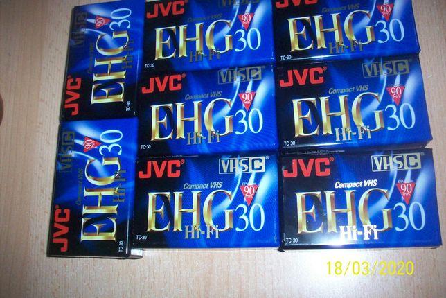 Kaseta VHS-C JVC EHG 30 EPmode 90min