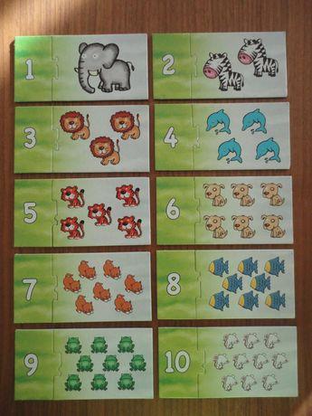 Vendo puzzle Clementoni números 1 a 10