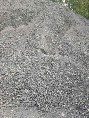 Szlaka żużel podbudowa kruszywa kamień