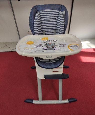 Joie Mimzy 360 - krzesełko do karmienia | Denim Gwarancja