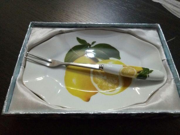блюдце для лимона