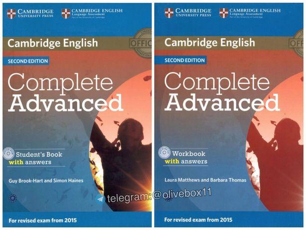 Complete Advanced (2nd Ed.) - Комплект (Учебник + Тетрадь + Аудио) CAE