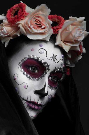 Грим, макияж на Хеллуин