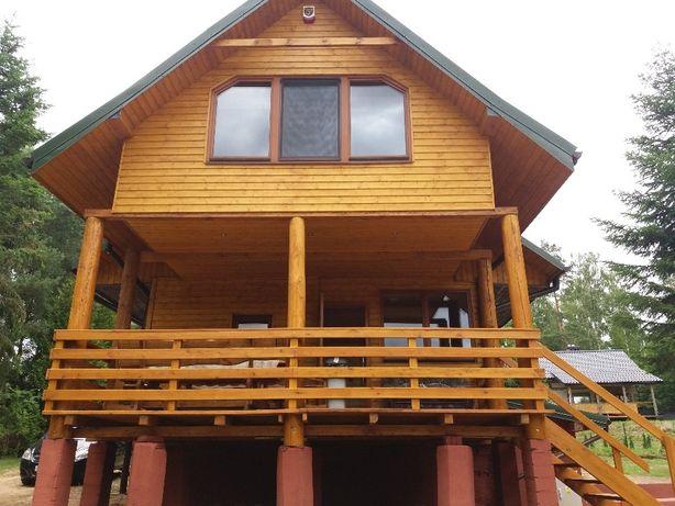 dom nad jeziorem,w lesie,domek do wynajecia,mazury,ferie zimowe