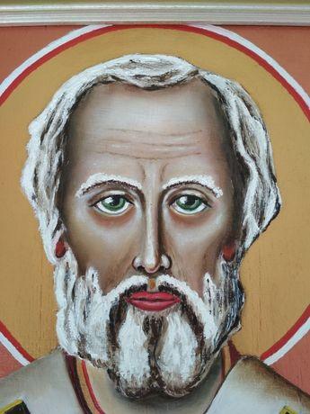 Ікона Св.Миколая написана маслом!!!