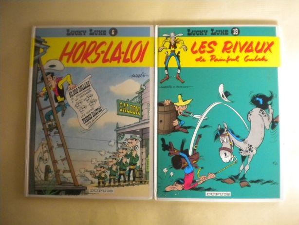 Lucky Luke Hors-la-Loi / Lucky Luke Les Rivaux de Painful Gulch