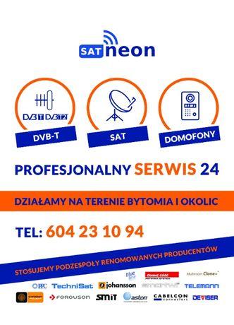 Serwis 24 Montaż ustawiania Anten Sat TV naziemna Domofony monitoring