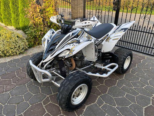 Yamaha Raptor 350 quad dodatki sportowy wydech