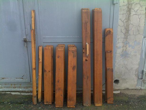 Доска натуральная деревянная на ворота гаража из СССР