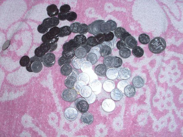 монети 1-2к украини