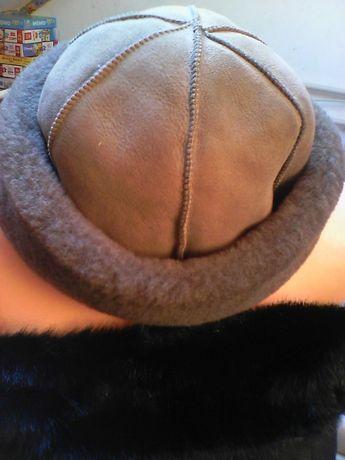 Toczek czapka elegancka zimowa