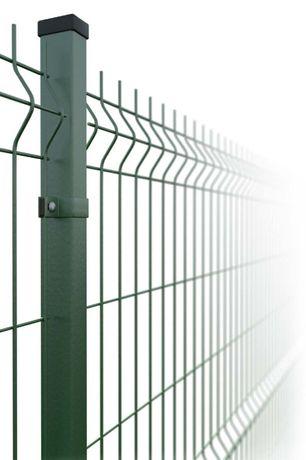 Ogrodzenie panelowe - komplet 1,5 + podm. Panele ogrodzeniowe Pisz