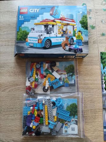 LEGO city лего сити Грузовик мороженщика (60253)