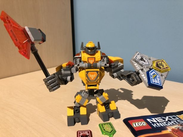 Lego Nexo Knights 70364, 70365, 70366