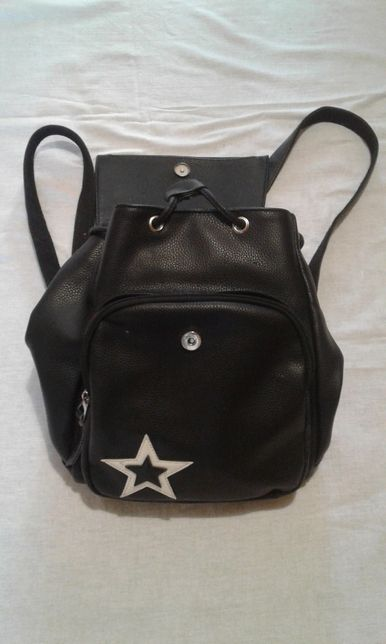 рюкзак женский, кожаный