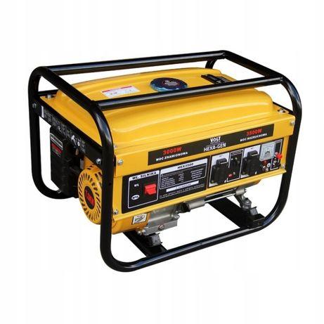 Agregat generator prądotwórczy HEXA-GEN 3500 W 15L 66dB 7KM