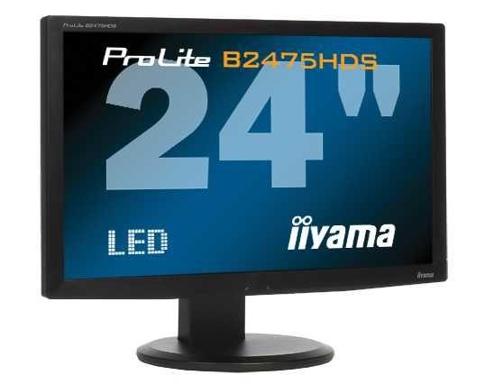 """Monitor 24"""" iiyama ProLite B2475HDS FHD Pivot"""