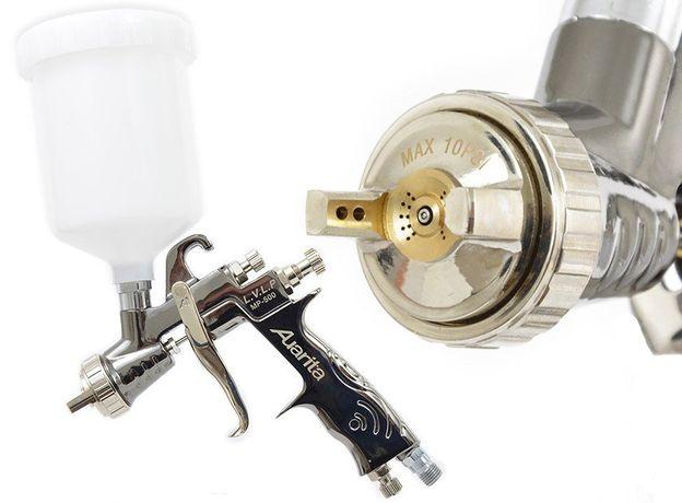 Pistolet lakierniczy z dyszą LVLP AUARITA MP-500 1,1 1,3 1,4 1,5 2,0