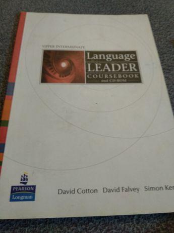 Language leader coursebook Upper-Intermediate z płytą