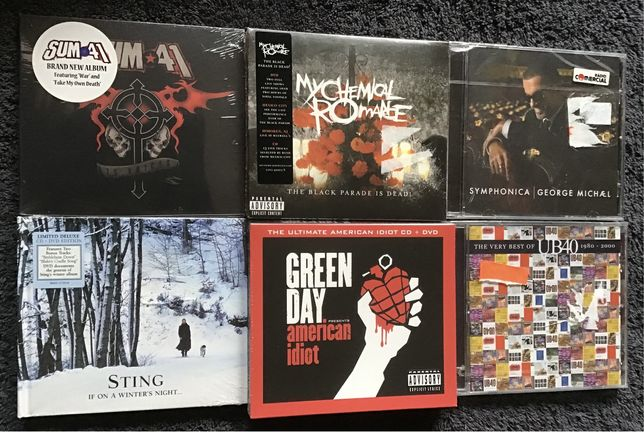 Green Day, Sum 41, Sting, UB40, George Michael