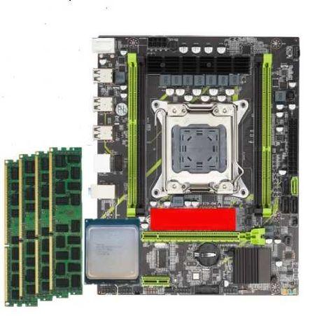 Combo Motherboard X79 + Xeon E5-2620 + 16GB RAM (4x4GB)