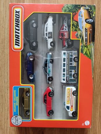 Samochody Matchbox 9-pak 9szt zestaw