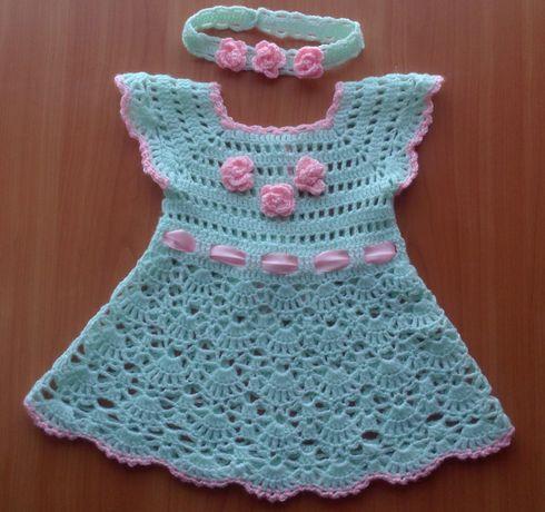платье вязане