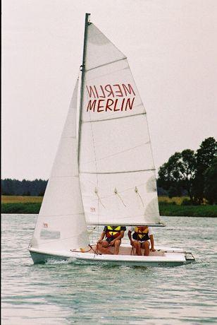 żaglówka, łódź żaglowa Merlin