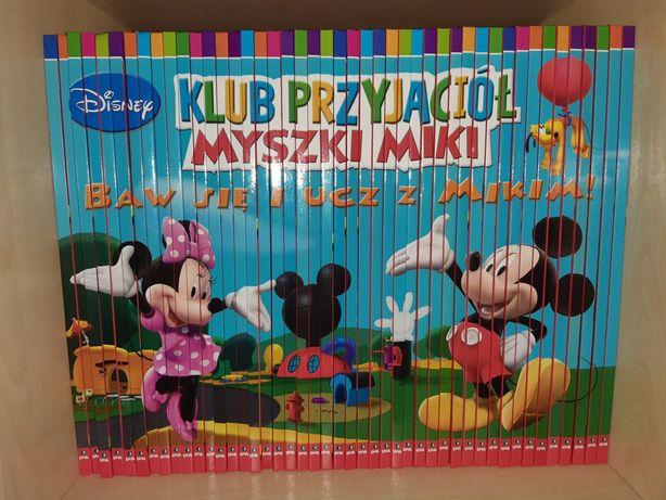 Mega zestaw ksiazki i cd Klub przyjaciół Myszki Miki
