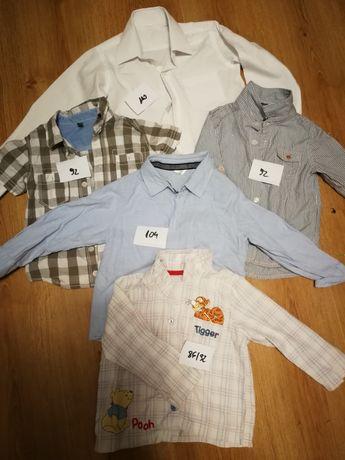 Spodnie koszule chłopięce