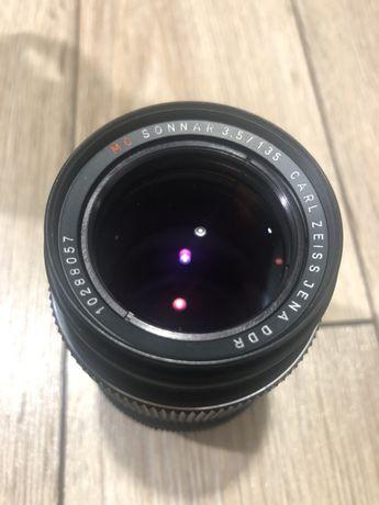 Obiektyw MC Sonnar Carl Zeiss Jena DDR 3,5/135  bcnM42
