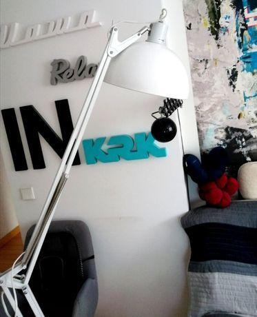 Lampa podłogowa Kare Design XXL biała