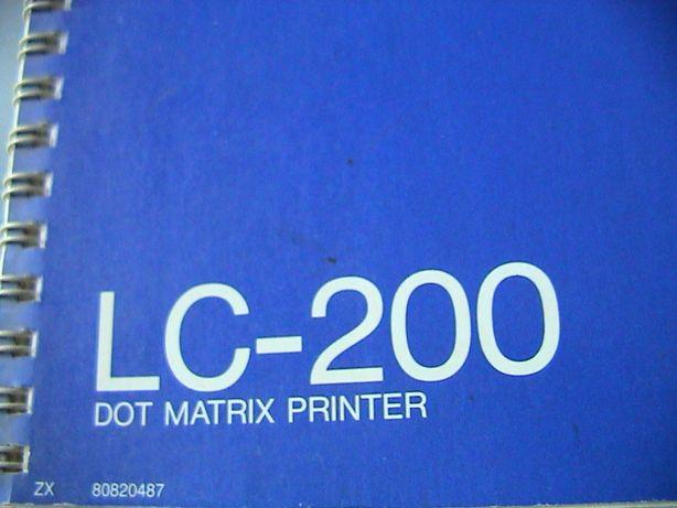 Manual de Impressora Star LC200