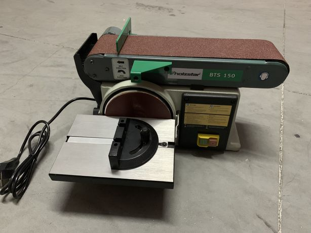 Lixadeira de disco e/ou cinta holzstar BTS 150