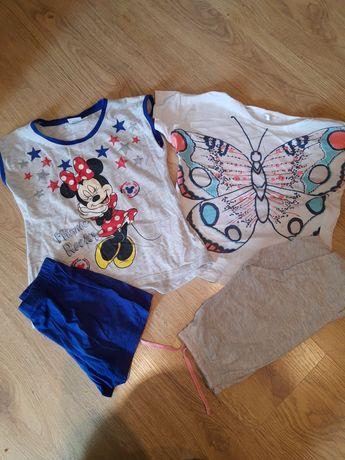Piżamka 110 116 dla dziewczynki