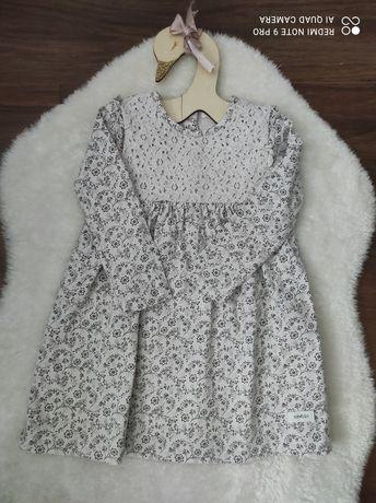 Jasna sukienka Newbie rozmiar 92