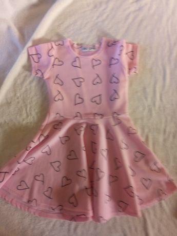 elegancka sukienka 6-8 lat