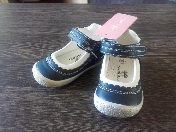 Nowe buciki dziewczęce Nelli Blu CCC, rozm.19