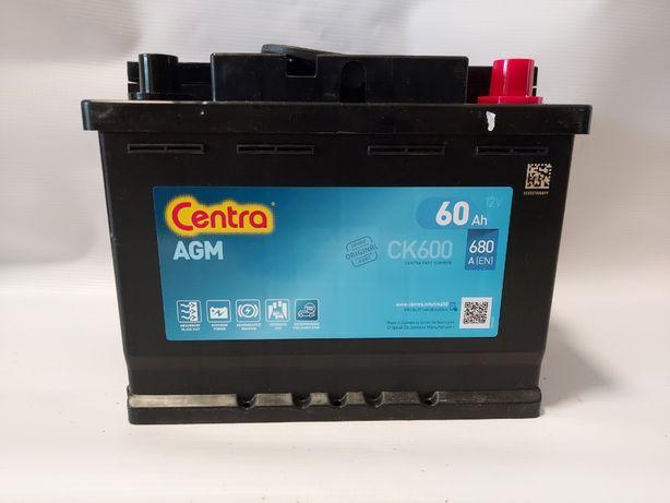 Akumulator 12V CENTRA AGM CK600 60AH 680A P+