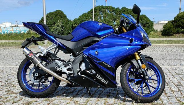 Yamaha Yzf R125 (125cc 11kw) de 2018