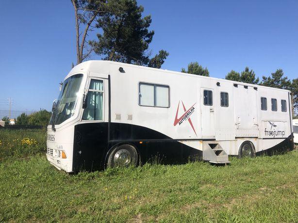 Caravana camião casa