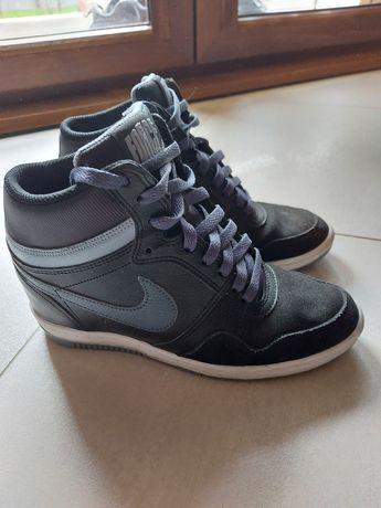 Nike Force r 38 24-24,5 super adidaski ukryta koturna
