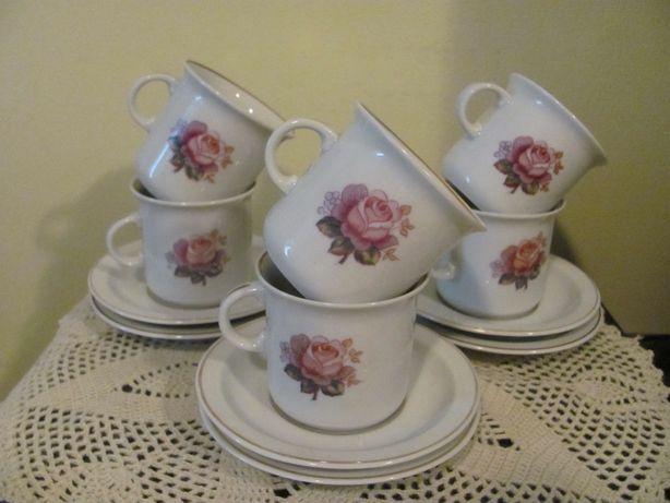 Сервиз кофейные чашки Польша