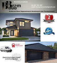 Producent Brama garażowa segmentowa Bramy garażowe przemysłowe 3*2,34